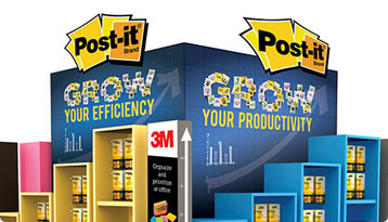 3M POST-IT Stand
