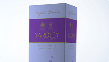 YARDLEY Packaging